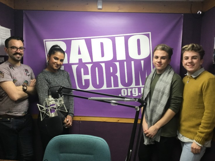 Billy & Louie at Radio Dacorum